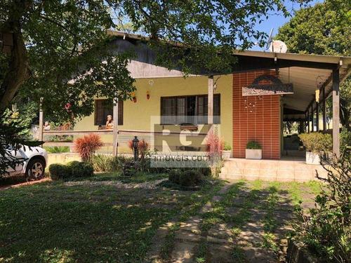 Chácara Com 3 Dormitórios À Venda, 3506 M² Por R$ 735.000,00 - Suíssa - Ribeirão Pires/sp - Ch0007