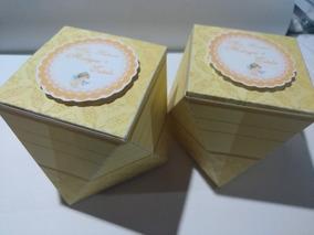 20 Caixas Personalizadas Pirâmide, Milk, Bala, Sushi R$1,29u