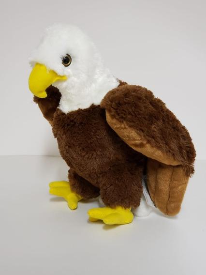 Águia De Pelúcia - 30cm - Safári - Aves - Linda