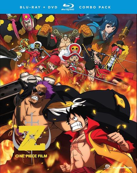 One Piece Film Z Pelicula Blu-ray + Dvd