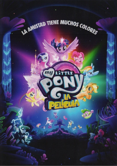 My Little Pony La Pelicula Dvd