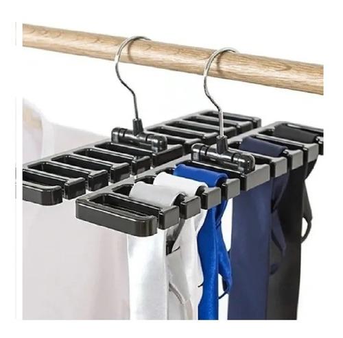 Imagem 1 de 5 de Cabide Organizador Porta Cintos Gravatas Lenços Bolsas E +