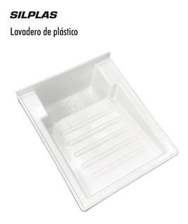 Lavadero De Plástico Blanco 50x42 Cm Sps M6997