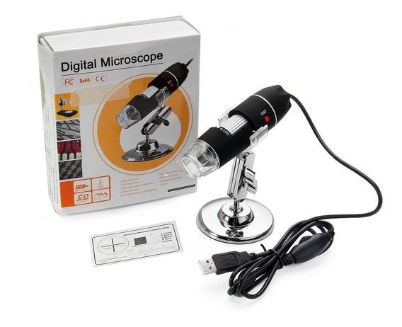 Microscópio Digital Usb 1600x