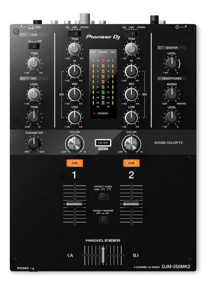 Mixer Pioneer Djm 250 Mk2 Rekordbox Dj