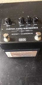 Pedal Mxr Booster Overdrive Custom Audio Eletronics