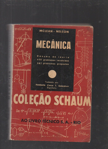 Livro Mecânica- (coleção Schaum)- Mclean & Nelson
