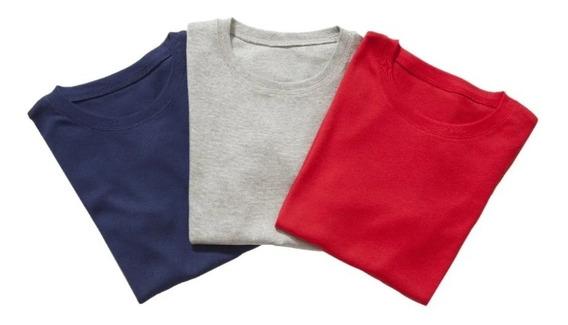 Kit 3 Camisetas T-shirt Plus Size Qualquer Estampa Silk