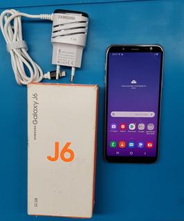 Celular Samsung J6 J600 32gb Usado