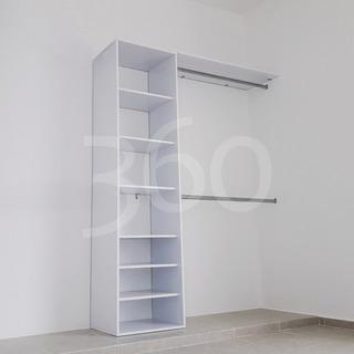 Closet Minimalista Moderno 1a - Instalación Gratis En Cancún