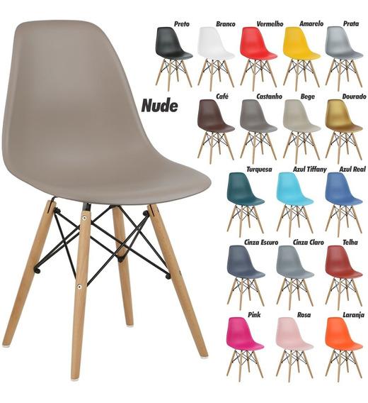 Cadeira New Charles Eames Eiffel Dsw Wood Promoção