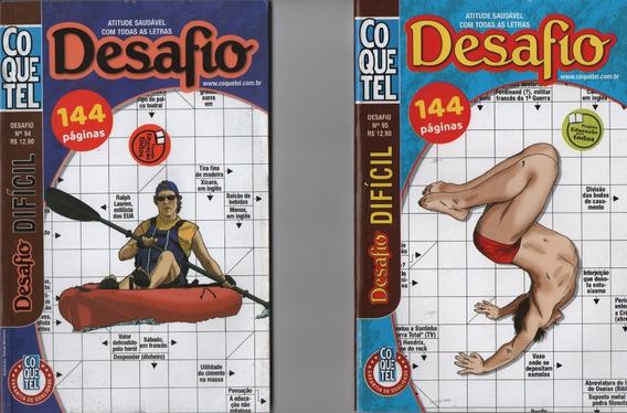 Kit Palavras Cruzadas Desafio Difícil Duplo Coquetel