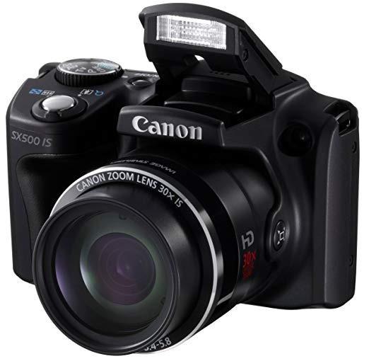 Camara Digital Powershot Sx500is 16mp X30 Optical