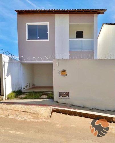 Casa Com 2 Quartos À Venda, 95 M² - Nossa Senhora De Fátima - Guarapari/es - Ca0557