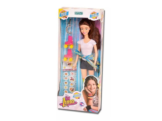 Muñeca Soy Luna Patines Original Disney Ditoys Niña Juguete