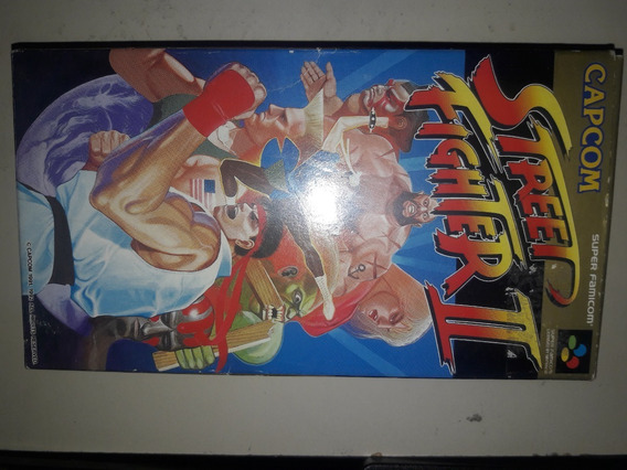 Street Fighter 2 Completo Original Japones Super Nintendo
