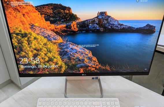 Computador LG All-in-one 27v750 G.bk33p1 - Impecável!!