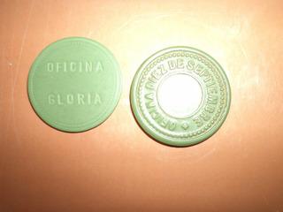 Ficha Salitrera Oficina Gloria ; Oficina Diez Septiembre