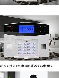 Alarma Gsm 2 Sensor Magnetico ,2 Control Remoto,sirena