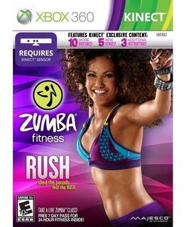 Videojuego Zumba Fitness Rush (xbox 360)