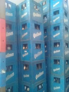 Cajon De Cerveza Completo Esqueleto Y Envases Vacios 650cc