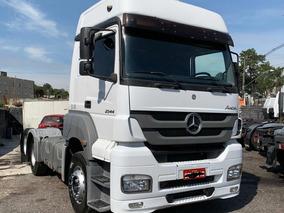 Mercedes Benz Axor 2544 2014 Cavalo Trucado 230 Mil Km