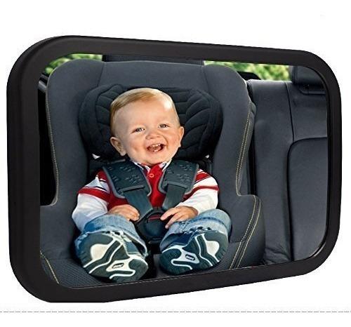 Espejo De Coche Para Bebé 360 Grados Maniobrabilidad
