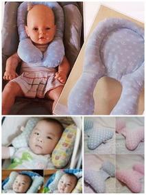 Kit Protetor De Pescoço Bebê Conforto/carrinho 2 Peças