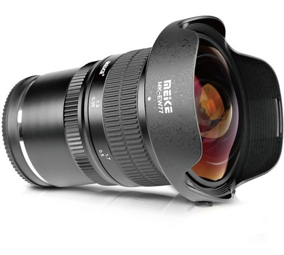 Lente Meike 8mm F/3.5 Fisheye Para Sony E-mount