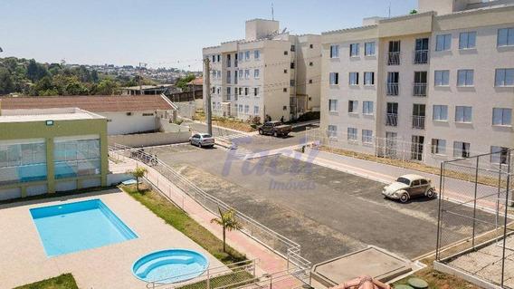 Apartamento Residencial Fiori À Venda, Orfãs, Ponta Grossa. - Ap0008