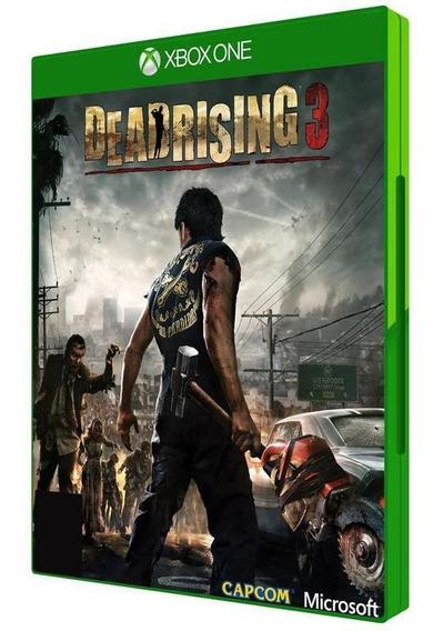 Jogo Dead Rising 3 - Xbox One - Midia Física Bluray