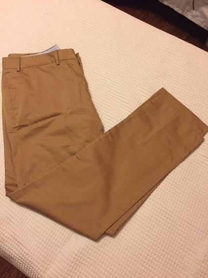 Pantalón De Vestir Masculino Color Beige Clarito Talle 48