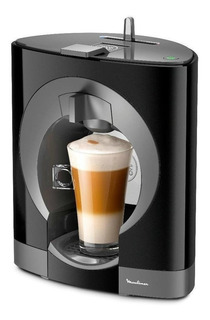 Cafetera Moulinex Nescafé Dolce Gusto Oblo Negra 110V