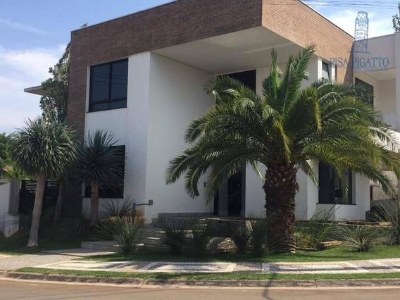 Casa Com 4 Dormitórios À Venda, 478 M² - Condomínio Metropolitan Park - Paulínia/sp - Ca1691