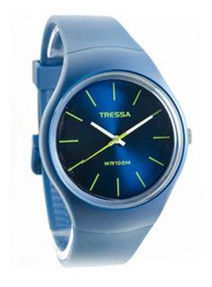 Reloj Tressa Fun Sumergible Sin Números 100m Agente Oficial