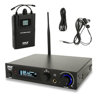 Pyle Audio In Ear Monitor And Receiver System, 100 Pre-set S