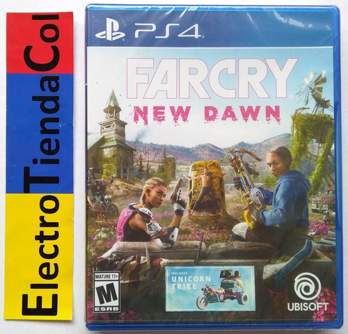 Far Cry New Dawn Ps4 Físico Nuevo Sellado Español