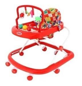 Andador Con Juguetes Y Sonidos Bebesit Rojo