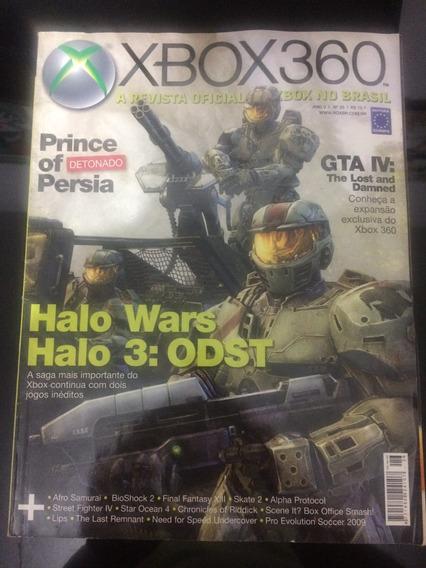 Revista Xbox 360 26 Prince Persia Detonado Halo Wars Gta 5