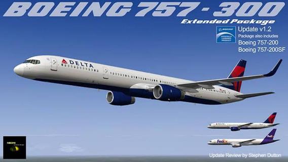 Flight Factor Boeing 757-200 X-plane 11