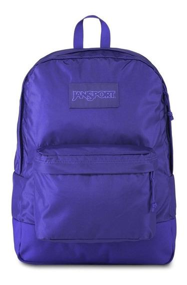 Mochila Jansort Superbreak Purple + Accesorios De Regalo