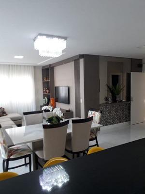 Apartamento 3 Suítes, Mobiliado E Decorado Com 2 Vagas De Garagem Individuais - Aceita Permuta Em Curitiba - 1070_1