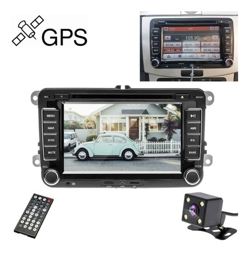 Dvd Vehiculo K0212 Hd 7 Espejo Retrovisor Monitor