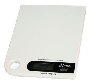 Balanza De Cocina Digital Silfab Para Colgar Bc307 Hasta 3 K