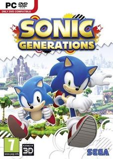 Sonic Generations Juego Pc Disco Fisico
