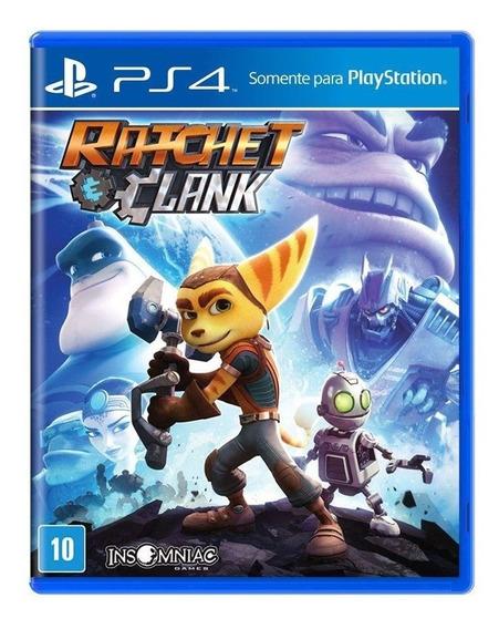 Ratchet And Clank Playstation 4 Ps4 Português Mídia Física