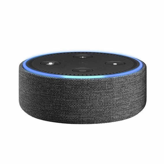 Capa De Tecido Para Echo Dot 2ª Geração - Charcoal