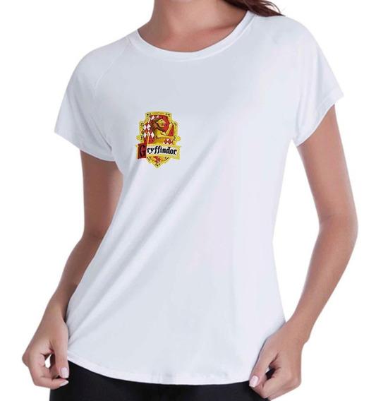 Camiseta Babylook Feminina - Grifinoria Harry Potter