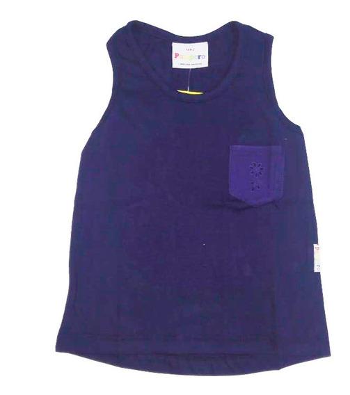 Remera Musculosa Infantil Marca Pampero Modelo Basico