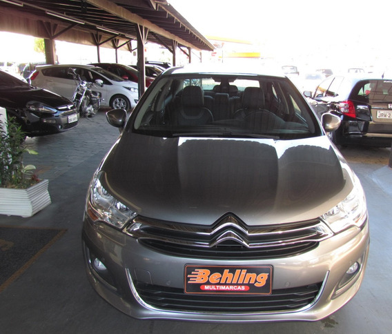 Citroën C4 1.6 Thp Exclusive Flex Aut.